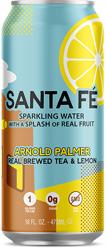 Santa Fe Arnold Palmer Iced Tea Can